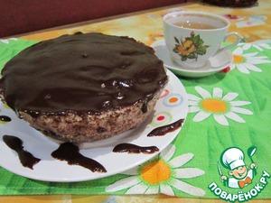 Рецепт 5-минутный ореховый торт без муки и масла