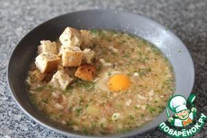 Рецепт Чешский чесночный суп