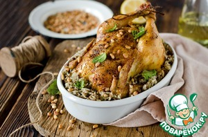 Курица, фаршированная рисом и фаршем простой рецепт с фото пошагово как готовить