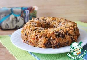 Рецепт Тимбалло из риса с куриными сердечками