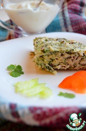 Рецепт Кюкю с рисом и зеленью