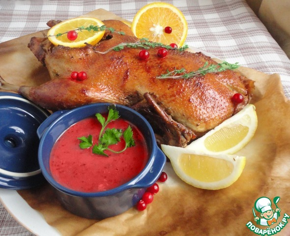 Утка с яблоками и медом: классический рецепт - tochka.net
