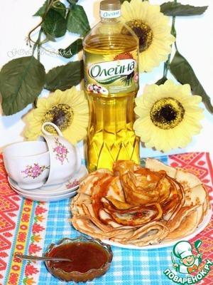 Рецепт Соус из меда и карри для блинов