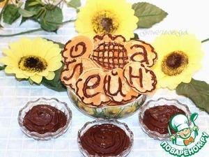 Рецепт Блинчики с шоколадно-банановым соусом