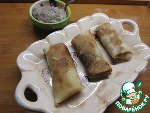 Рецепт Грибной соус к блинчикам с мясом