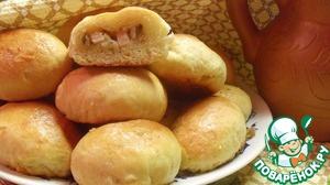 Рецепт Мини-пирожки с грибами и ветчиной