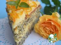 Апельсиново-маковый торт ингредиенты