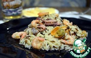 Ризотто с морепродуктами пошаговый рецепт приготовления с фотографиями как приготовить