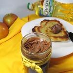 Блинчики с шоколадно-ореховой пастой