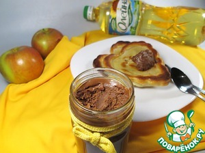 Рецепт Блинчики с шоколадно-ореховой пастой