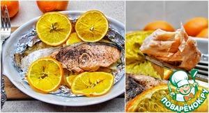 Лосось с апельсинами и фенхелем рецепт приготовления с фотографиями