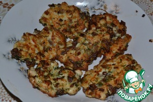 Рецепт Котлеты по-албански с грибами