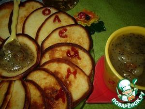 Рецепт Грушевый соус к творожным оладьям