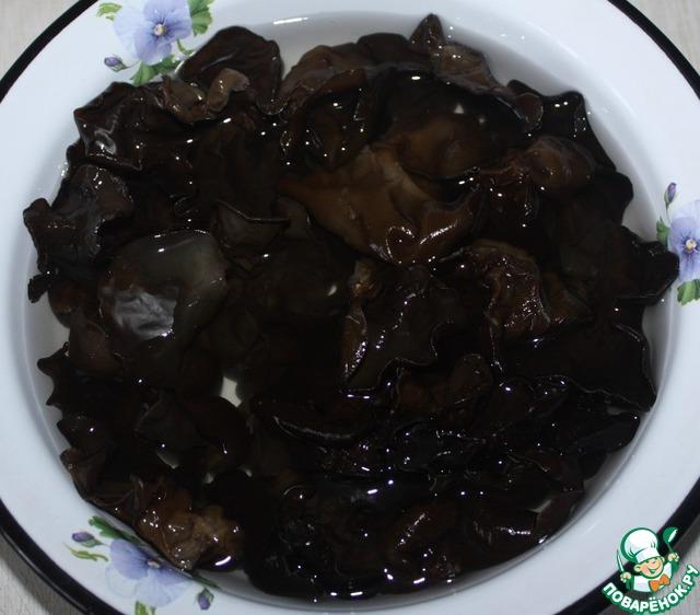 древесные грибы рецепты салатов