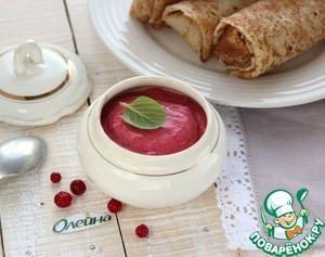 Рецепт Бруснично-горчичный соус