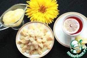 Рецепт Блинчики с лимонным соусом