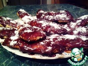 Рецепт Печенье с шоколадным кремом
