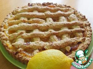 Рецепт Тарт с лимонным кремом