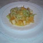 Салат из апельсинов и сельдерея по-французски