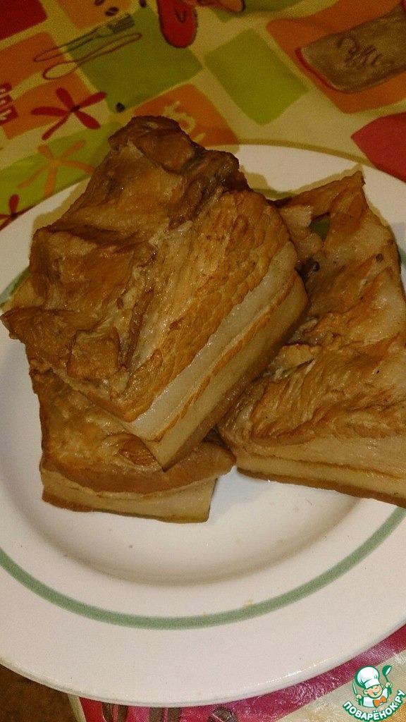 сало в луковой шелухе без варки рецепты с фото