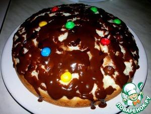 Рецепт Бисквитный торт с бананами