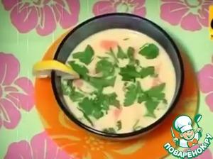 Рецепт Сливочный суп из семги за 20 минут