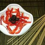 Салат с копчёной курицей и морковью по-корейски
