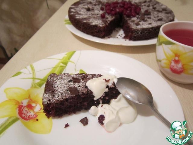 Как приготовить Шоколадно-свекольный пирог домашний рецепт приготовления с фотографиями пошагово #7