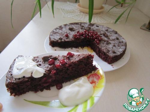 Как приготовить Шоколадно-свекольный пирог домашний рецепт приготовления с фотографиями пошагово #9