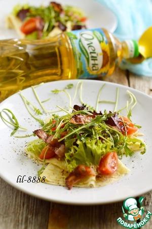 Рецепт Блины с салатом