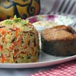 Морковно-кокосовый рис