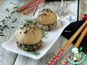 Рецепт Нигири-суши с шампиньонами