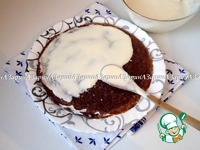 Черемуховый блинный торт с вишневым соусом ингредиенты