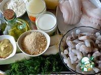 Запеканка из блинов с морепродуктами ингредиенты