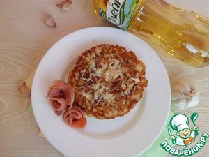 Рецепт Интересные блинчики с чесночным маслом