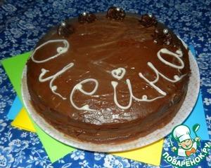 Рецепт Блинный шоколадный торт