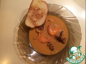 Рецепт Морепродукты в соусе карри