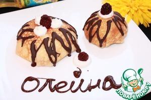 Рецепт Блинное пирожное с ягодами
