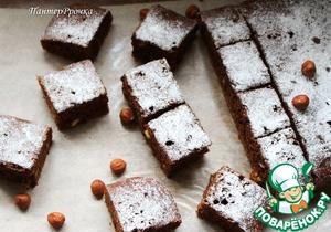 Рецепт Кофейно-шоколадный пирог с черносливом