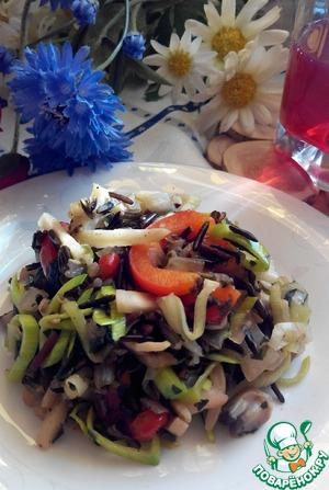 Рецепт Гарнир овощной с диким рисом