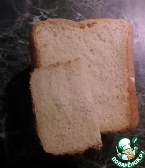 Рецепт Йогуртовый хлеб в хлебопечке