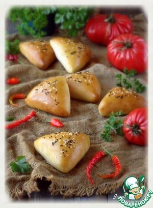 Рецепт Пироги с мясным фаршем