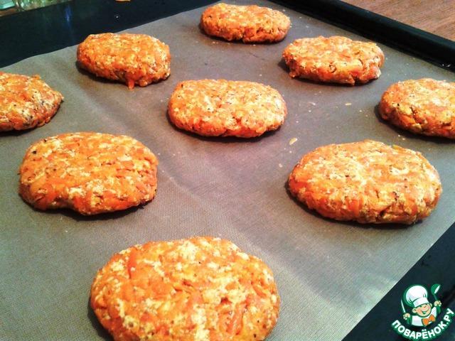 морковные котлеты рецепт в духовке с фото