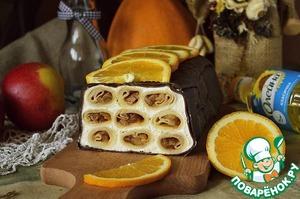 Блинный кекс с яблоками и маскарпоне рецепт приготовления с фотографиями