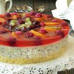 Фруктово-рисовый торт