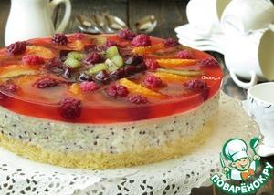 Рецепт Фруктово-рисовый торт