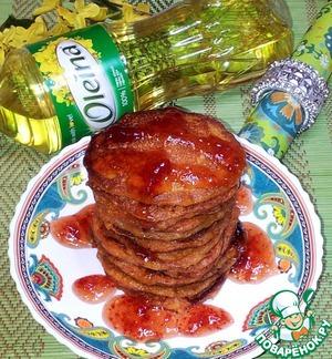 Рецепт Оладьи из пшённой каши с морковным соком