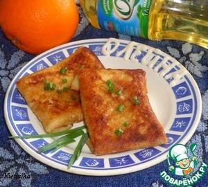 Рыбно-овощная начинка для блинов рецепт с фотографиями пошагово