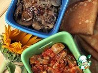 Две грибные начинки ингредиенты