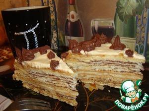 Наполеон торт рецепт хрустящие 2